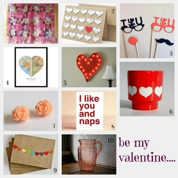valentines Collage