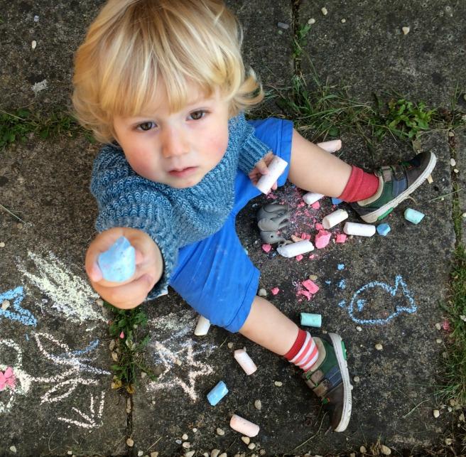 Joe's pavement chalk