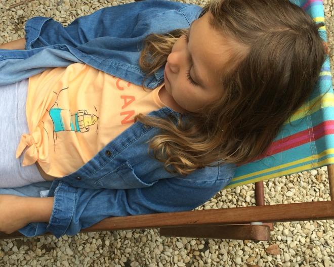 Mia deckchair