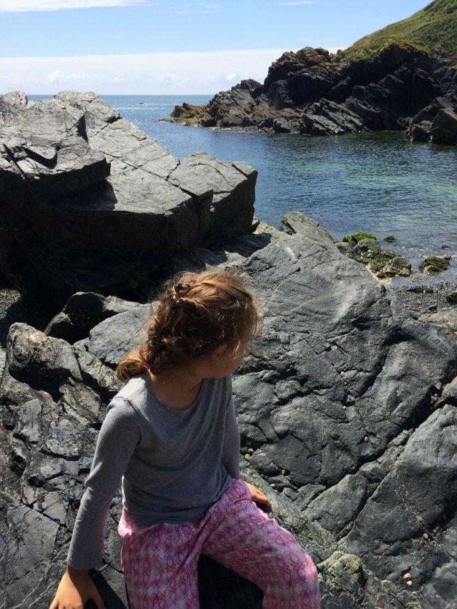 Mia Cadgwith rocks