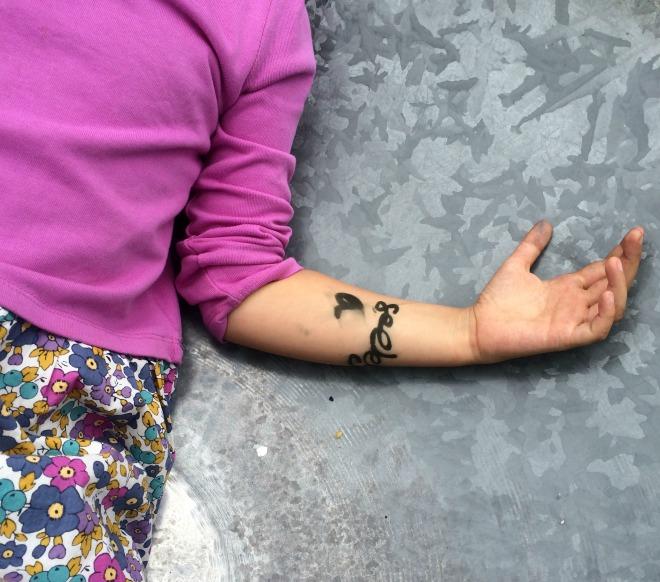 Phoebe tattoo