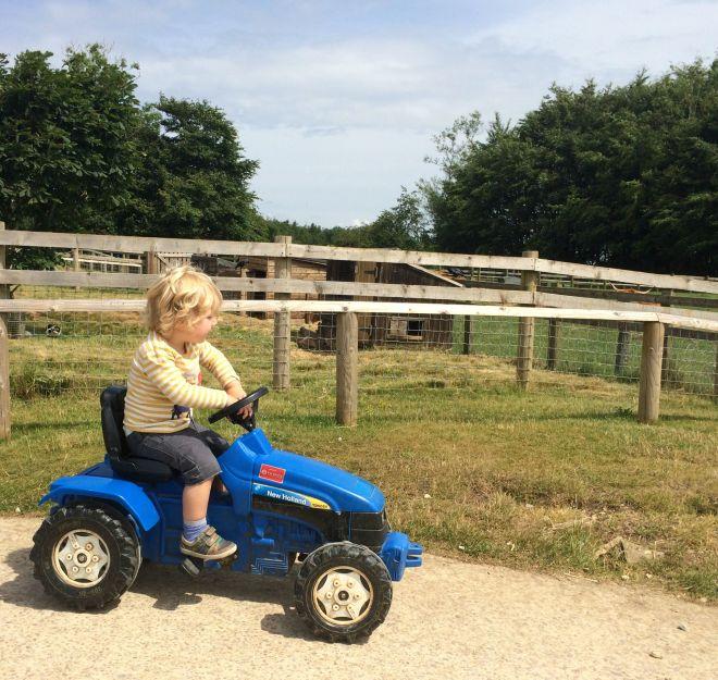 Joe tractor 1