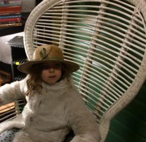 Mia's hat